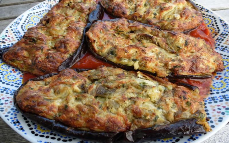Aubergines farcies à la bonifacienne (I mirizani)
