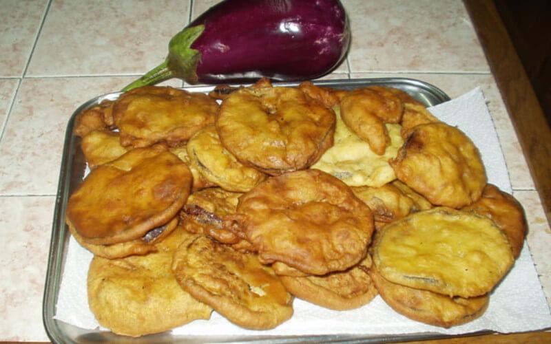 Beignets d'aubergines faciles rapides et originales