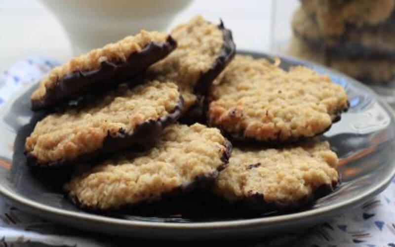 Biscuits suédois aux flocons d'avoine et Au chocolat