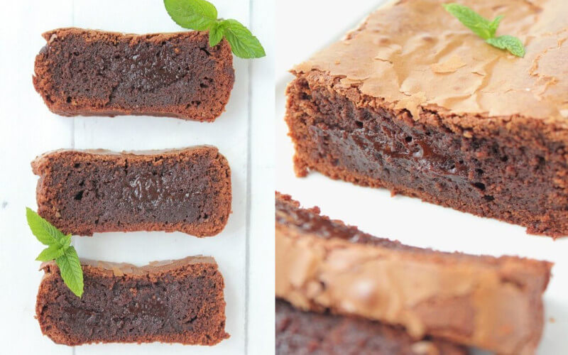 Cake Fondant au Chocolat très gourmand
