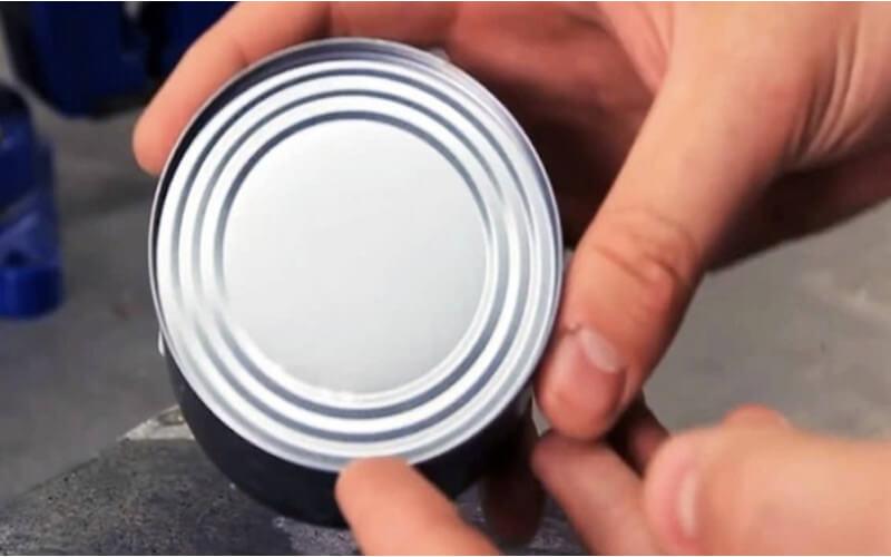 Comment ouvrir les boîtes de conserve, sans utiliser d'ouvre-boîtes