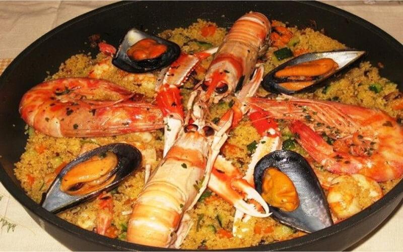 Couscous sicilien aux poissons très gourmand