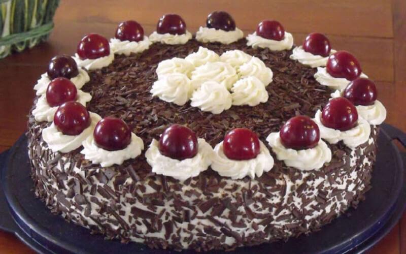 Gâteau Forêt noire sans alcool