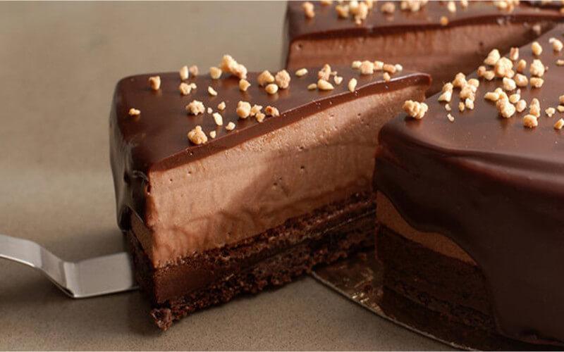Gâteau royal mousse au Nutella
