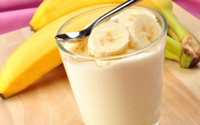 Glace à la banane fait maison