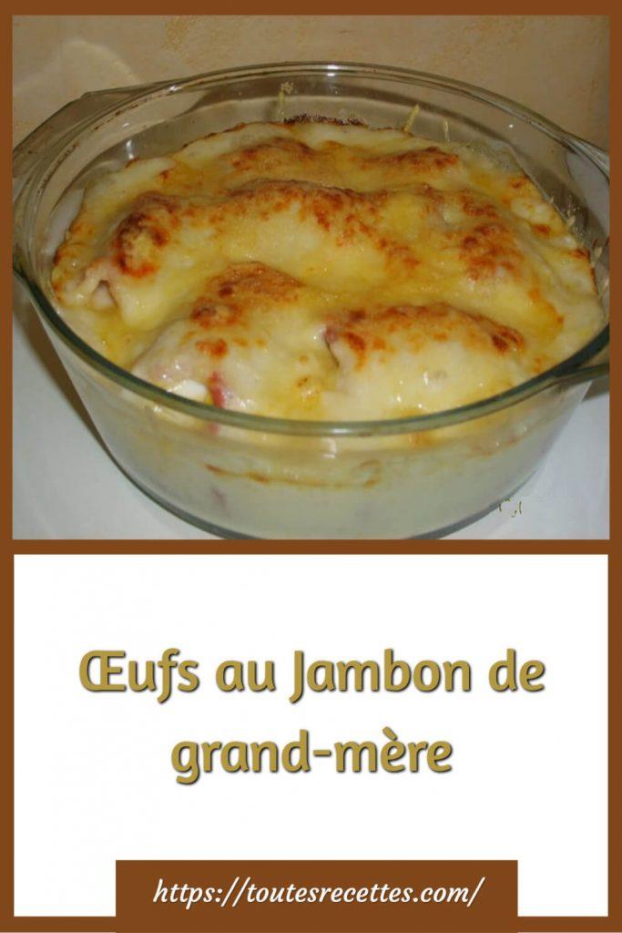 Comment préparer les Œufs au Jambon