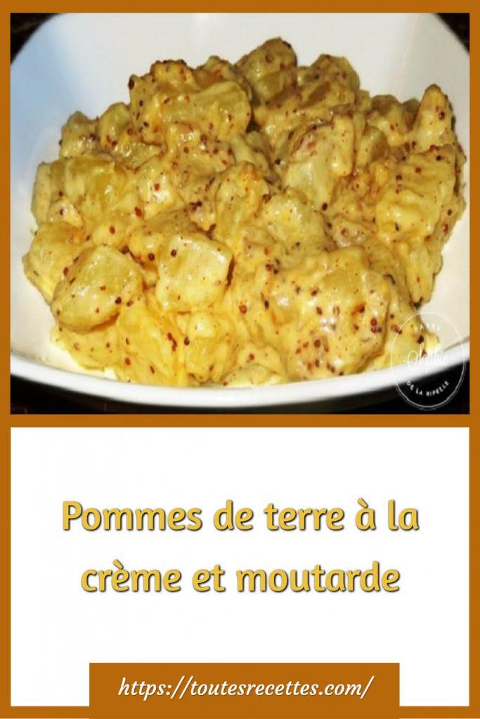 Comment préparer les Pommes de terre à la crème et moutarde