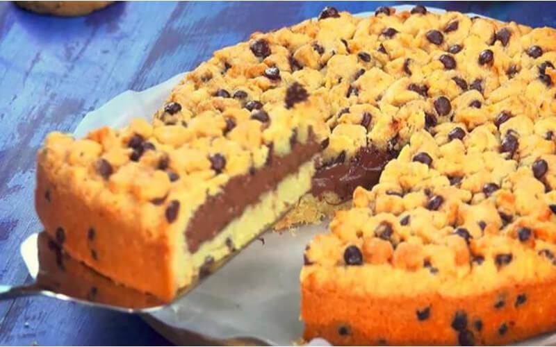 le cookie géant au nutella maison
