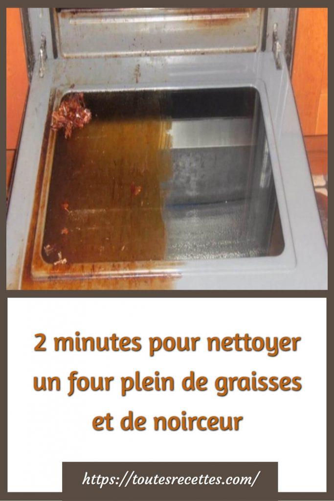 Astuce pour nettoyer votre four et le rendre comme neuf
