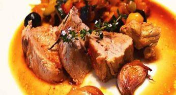 Filet mignon de veau à la provençale