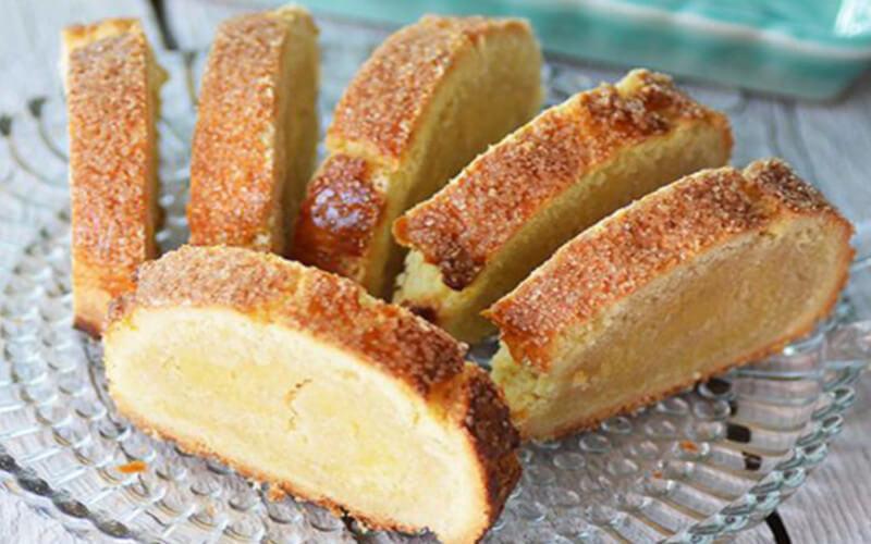 Gâteau roulé aux amandes simple et bon