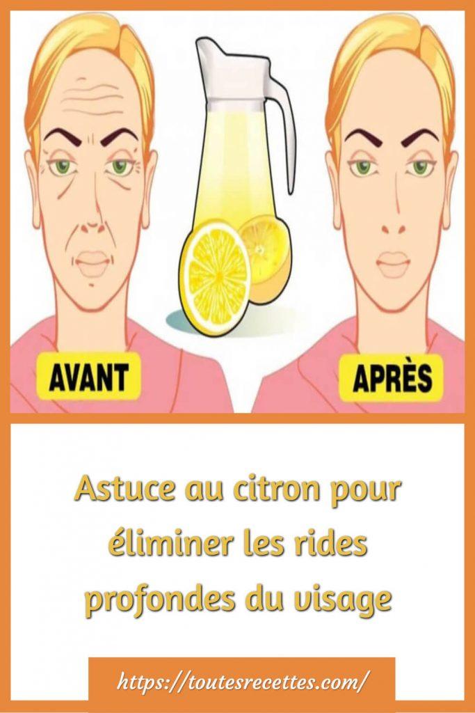 méthode naturelle au citron biologique pour lutter contre les rides