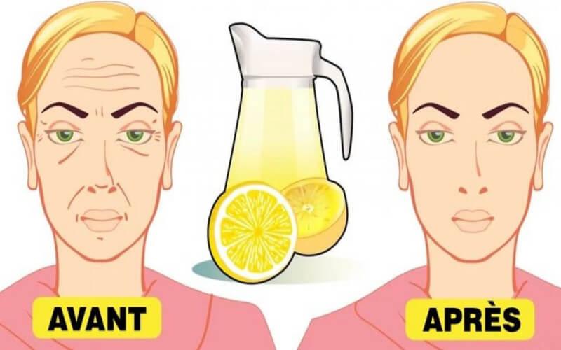 Astuce au citron pour éliminer les rides profondes du visage