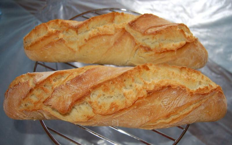 Baguette Inratable fait maison pain facile à préparer