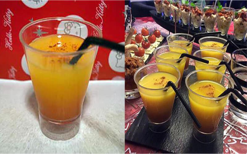 Cocktail à la fleur d'oranger et sa pointe de cannelle