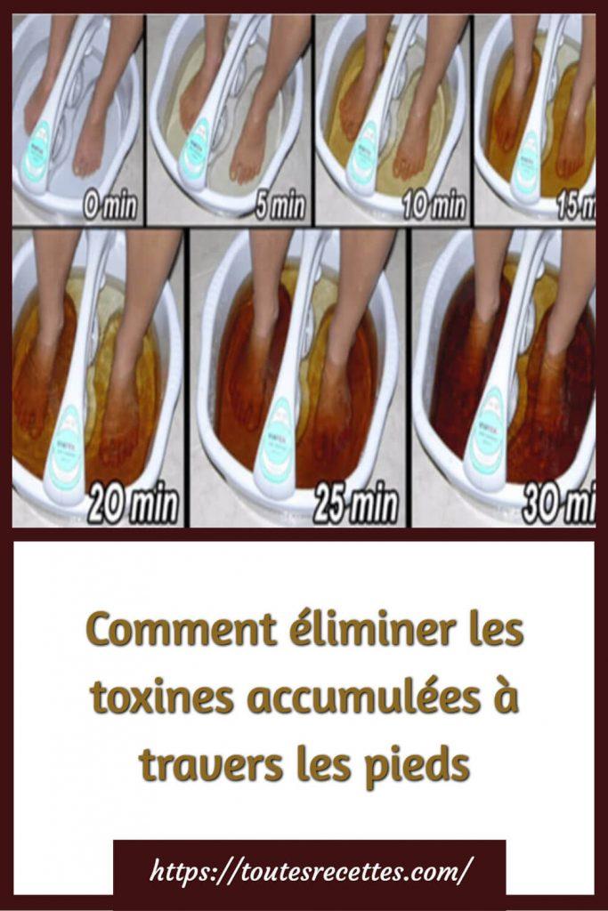 bains de pieds qui vous permettront de relaxer vos pieds, tout en purifiant votre corps