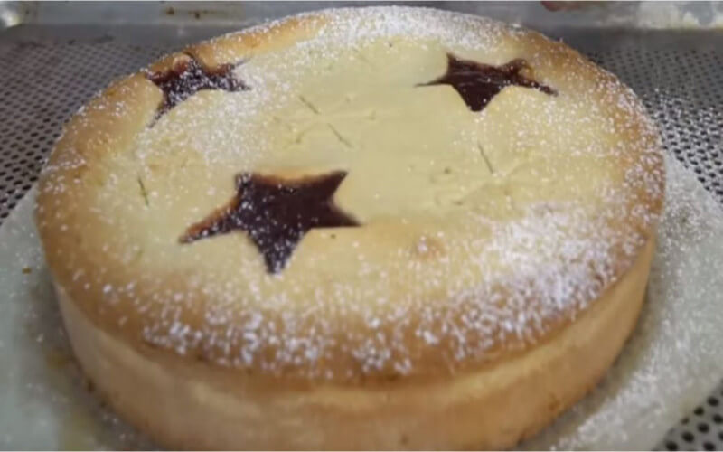 Gâteau sablé de Noël, facile et exquis