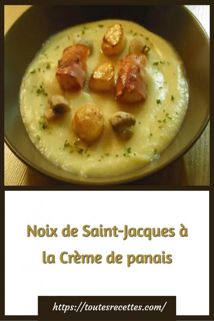 Comment préparer les Noix de Saint-Jacques à la Crème de panais