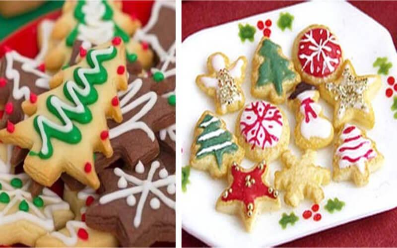 Petits sablés du Père Noël biscuits très gourmands