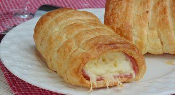 Roulés au jambon et fromage la sauce béchamel