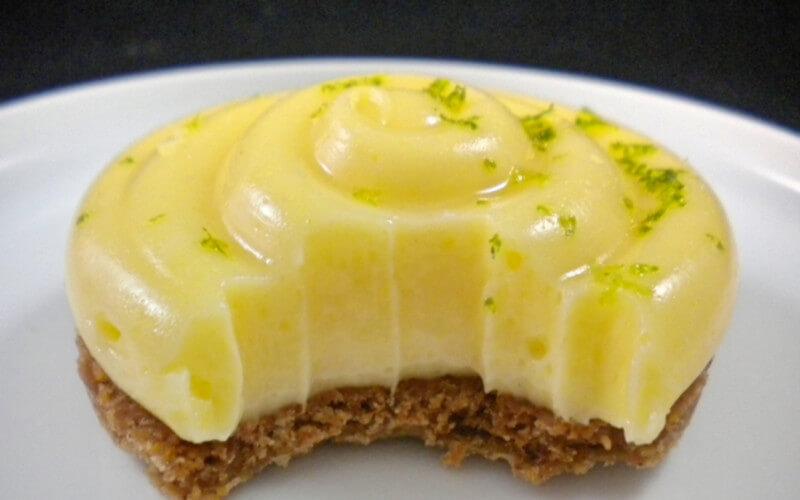 Tartelette au citron dessert léger