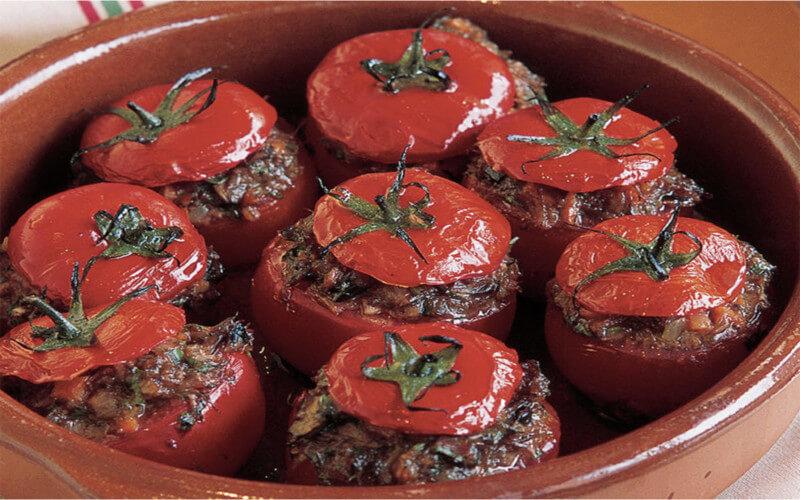 Tomates farcies à l'ancienne