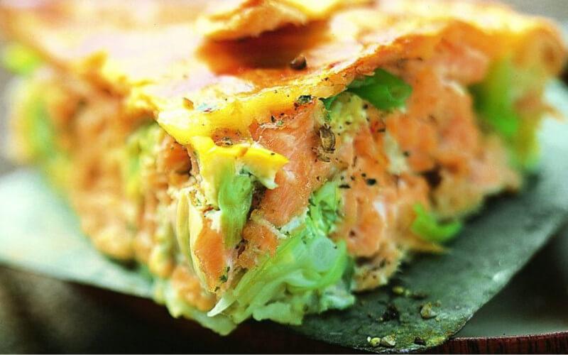 Tourte au saumon et aux poireaux facile à réaliser