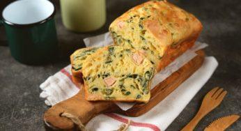 Recette de pudding au brocoli, aux asperges et au saumon