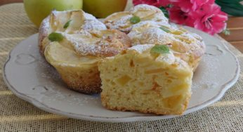 Muffins aux pommes moelleux et sans beurre