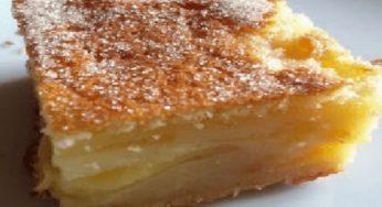 Flan alsacien aux pommes rapide avec peu d'ingrédients