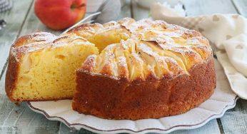 Gâteau au yaourt aux pommes fondant et hyper moelleux