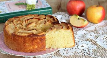 Gâteau aux pommes et au yaourt facile et économique