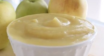 Purée de pomme naturelle, prête en quelques minutes!