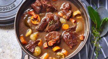 bœuf bourguignon facile, l'astuce une viande très tendre
