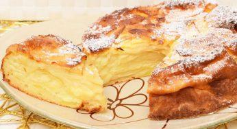 Tarte aux pommes sans beurre moelleuse