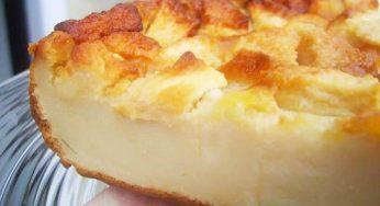Flan aux pommes, léger sans beurre Prêt en 6 Minutes