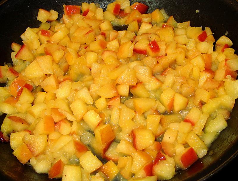 comment préparer la Coquille saint jacques aux poêlées pommes etape 1