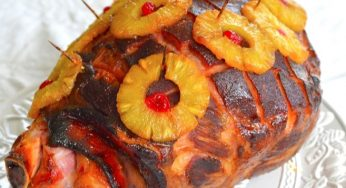 La Recette du traditionnel Jambon de Noël à l'ananas