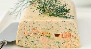Terrine de saumon entrée idéale pour les fêtes
