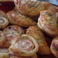 Émerillons de pâte feuilletée au saumon fumé et au boursin