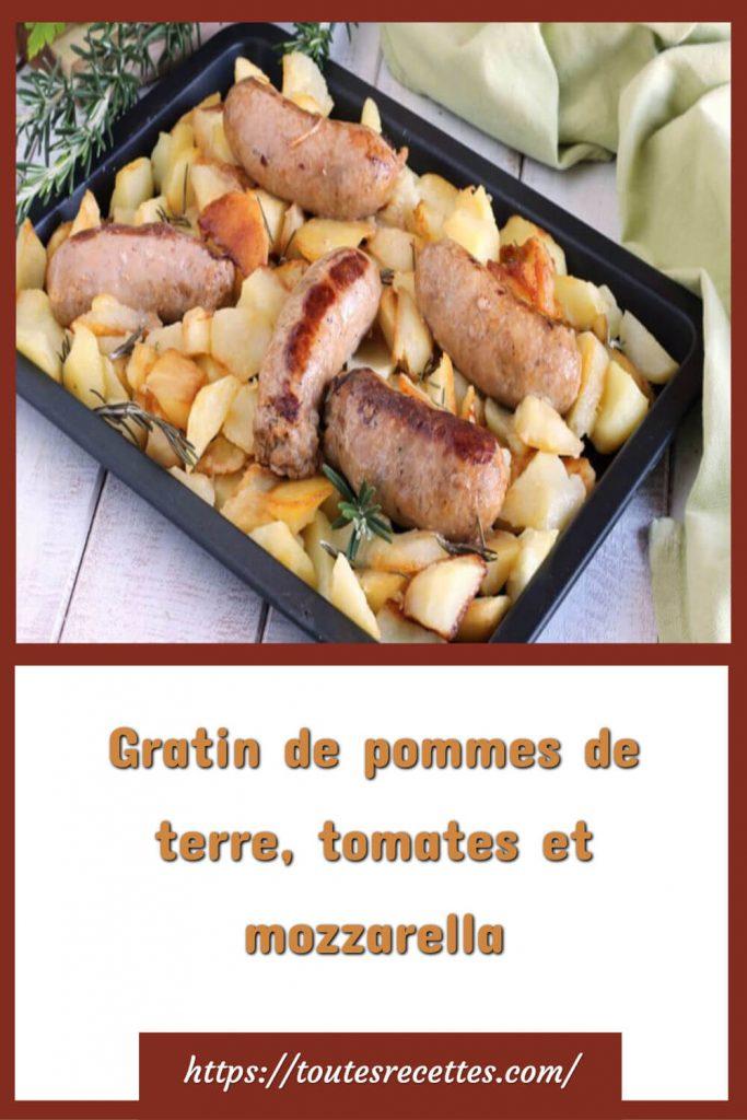 Comment préparer les pommes de terre et saucisses au four
