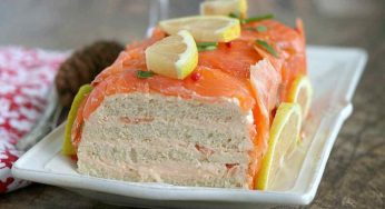 Terrine de saumon à la ciboulette entrée simple et originale