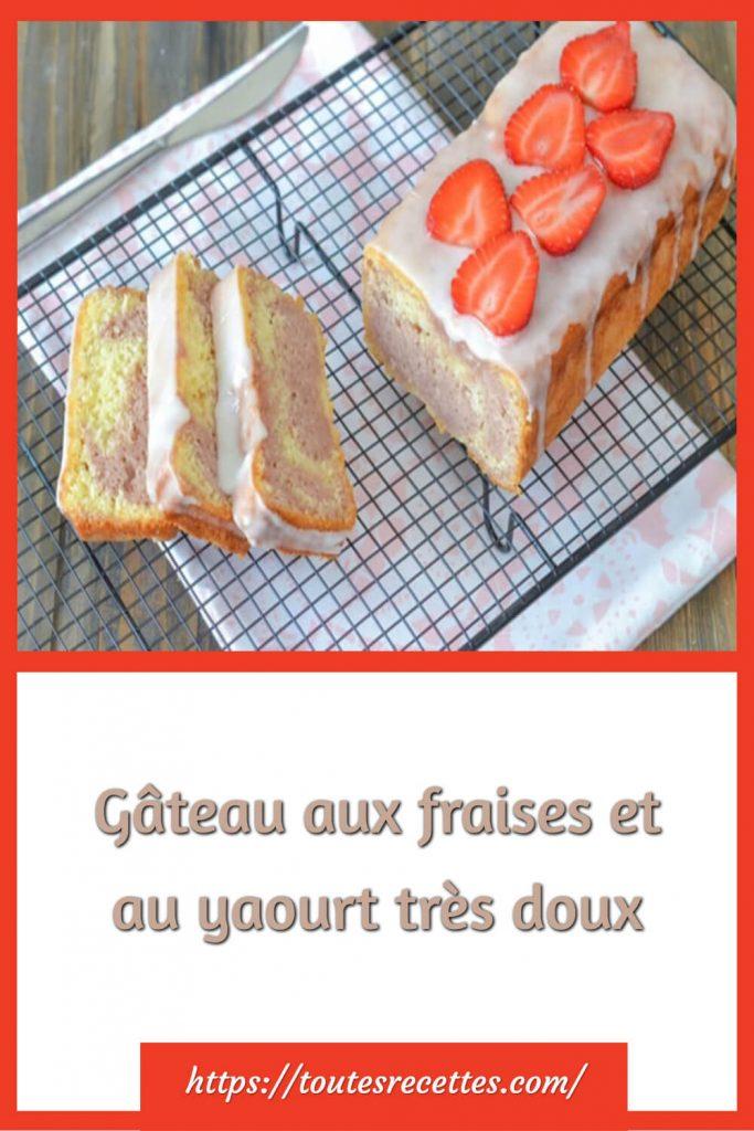 Comment préparer le Gâteau aux fraises et au yaourt